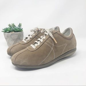 SoftWalk | Health Glide Tan Leather Sneakers 11